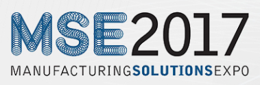 MSE 2017 Manufacturing Solutions Exhibition